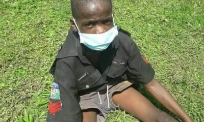 I want To Inspector General Of Police,Say 11 year Old Caught Wearing Police Uniform In Edo state