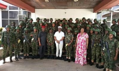 Female Army officer To Restore Peace In Anambra