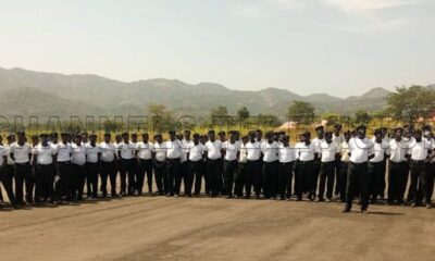 Minister of police affairs inspects SWAT Training
