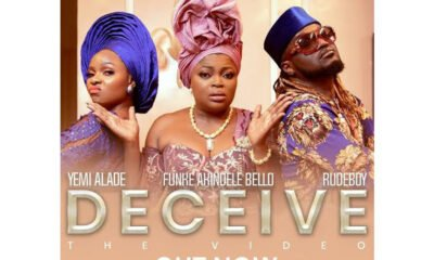 New Video: Yemi Alade and Rudeboy deliver the video for 'Deceive'