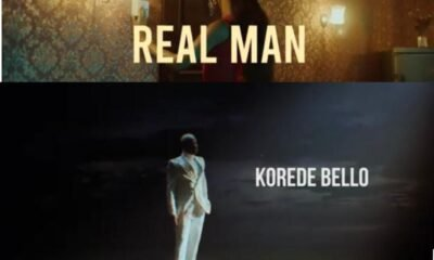 """Korede Bello unlock the visuals for """"Real Man"""""""