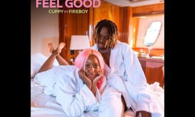 """Cuppy and Fireboy DML unlock Loved Up Visuals For """"Feel Good"""""""
