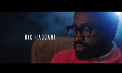 """Ric Hassani serves the video for """"Thunder Fire You"""""""