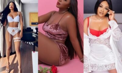Nigeria Celebrities Dons Red Lingerie For Valentine's Day