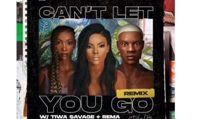 Stefflon Don features Tiwa Savage & Rema for 'Can't Let You Go' remix