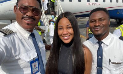 Erica Excited Flying With Omotola's Husband