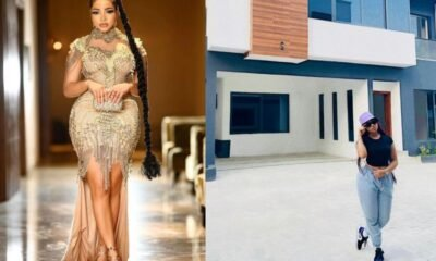 Former housemate of Big Brother Naija, Nengi Is now a landlady, acquires mansion in Lagos